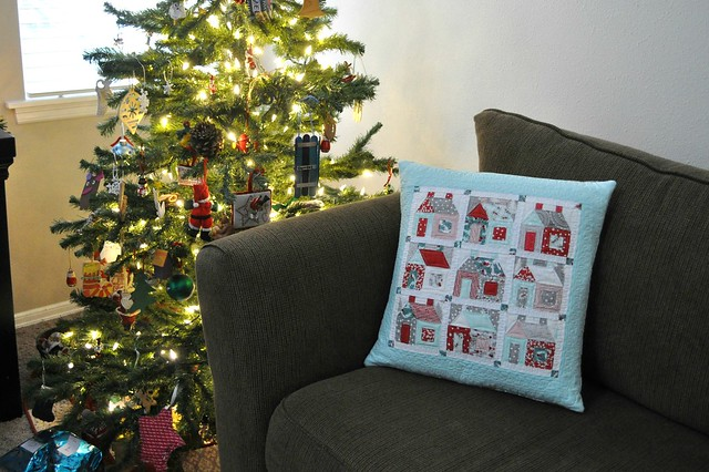 house pillow front
