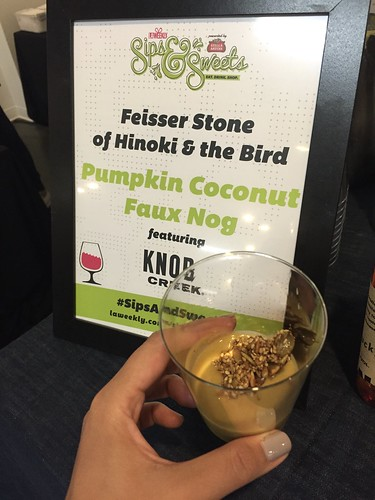 Hinoki and the Bird at LA Weekly's Sips and Sweets