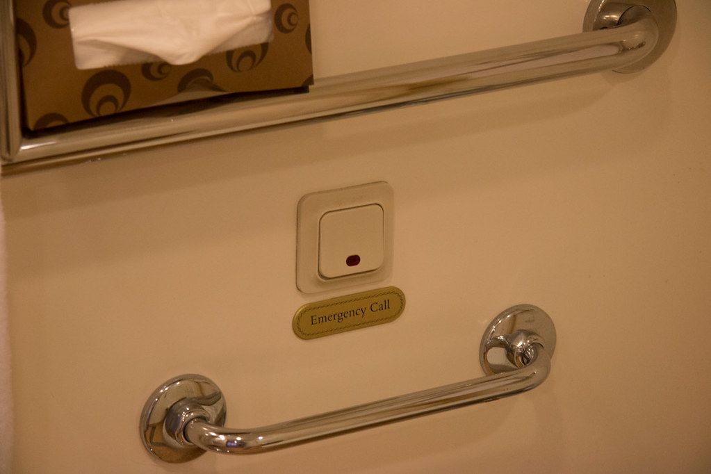 Accessible Bathroom Lock ruby princess | cabin review | mini suite and accessible