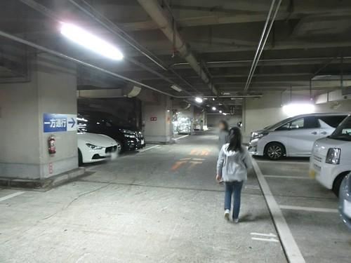 マリー・アントワネット展の駐車場