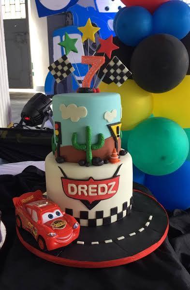 Cars Themed Cake by Hazelponie De leon