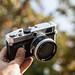 Canon P (Populaire) 1959 rangefinder by Corey Stock