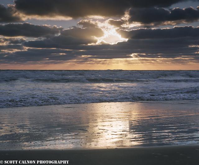 Tregantle Sunset - 120 Film
