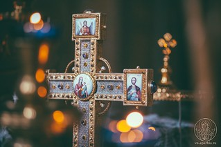 Литургия в Софийском соборе 275