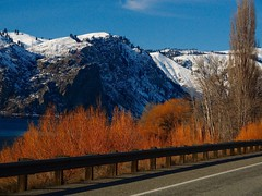 Winter color on roadtrip