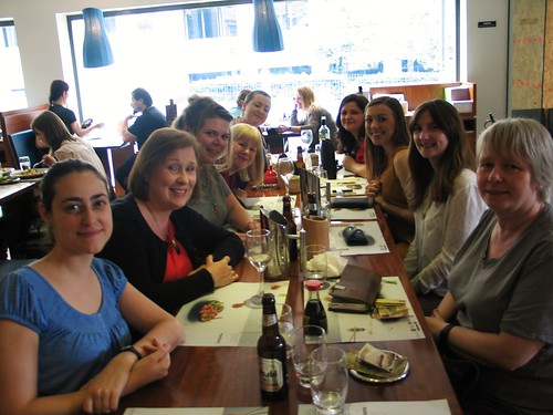 Write Like A Grrrl! lunch outing