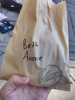 Aussie Meat Pie. So delicious. new West Food Truck Fest.
