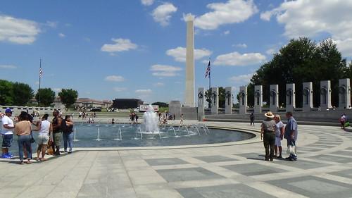 Washington DC WW2 Memorial July 15 15