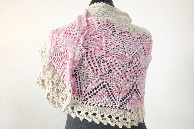 Follow Your Arrow Shawl 2