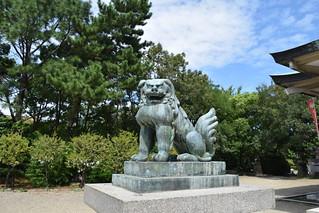 תמונה של Osaka Castle Park ליד Ōsaka-shi. osakacastle osakacastlepark 大阪城公園 豊國神社 hōkokushrine