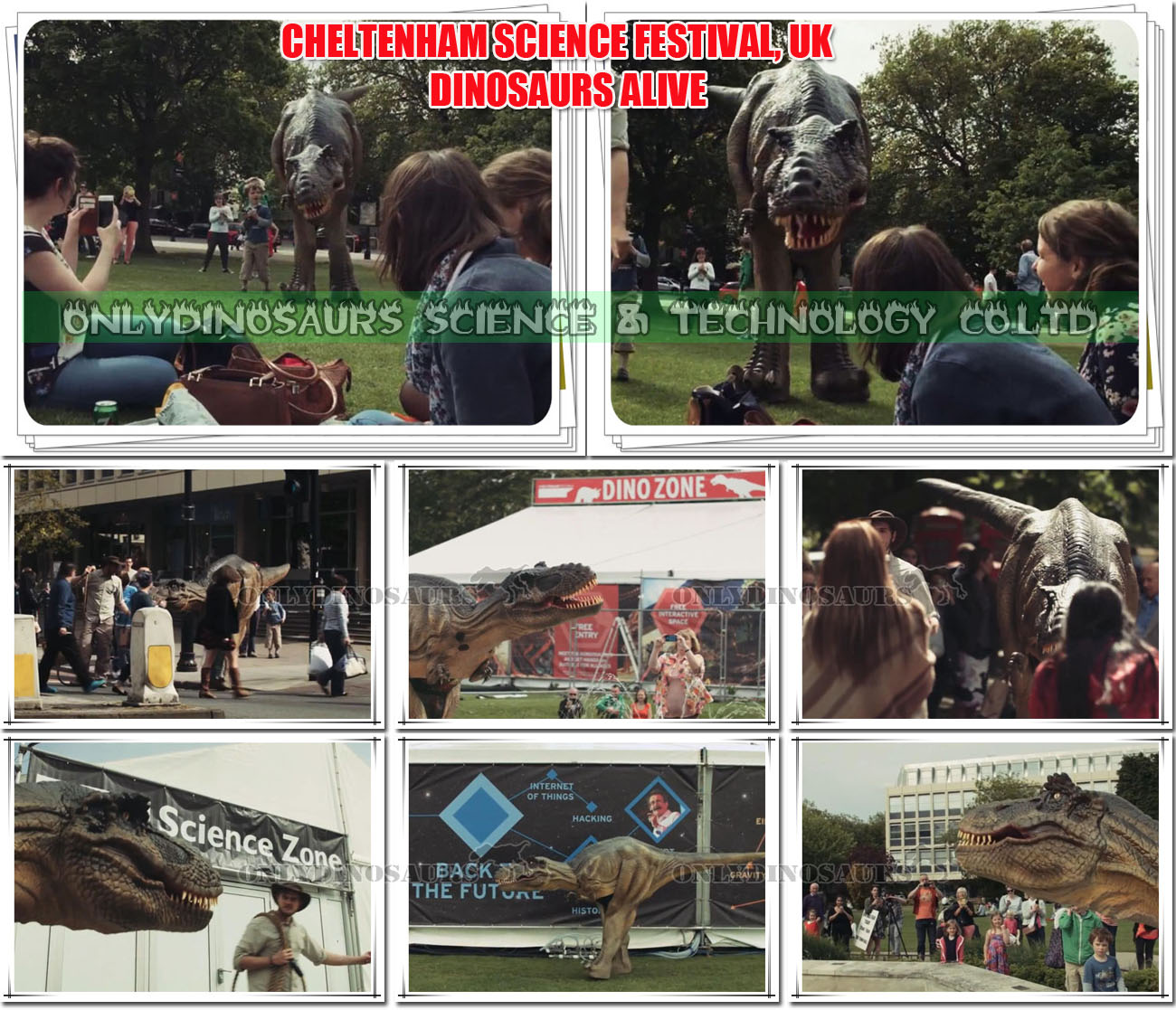 Dinosaur Show in Science Festival