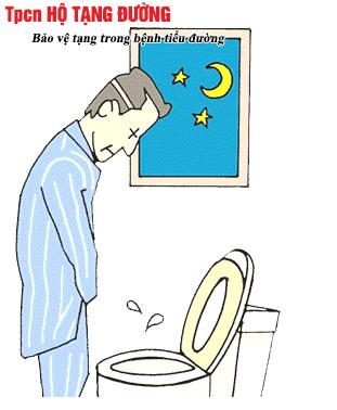 Đi tiểu nhiều lần có thể là triệu chứng của bệnh tiểu đường type 2