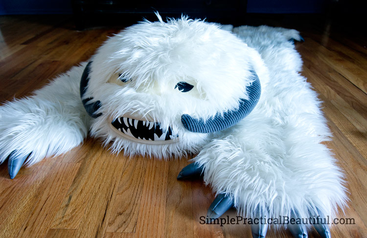 Exceptional Star Wars Wampa Rug