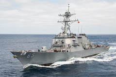 USS Benfold (DDG 65) file photo. (U.S. Navy/MC3 Nathan Burke)