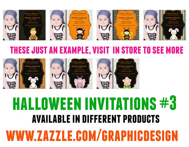 Halloween Invitations 3