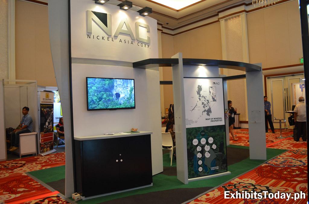 Nickel Asia corp. Tradeshow Display