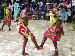 Traditional Ewa Dancers