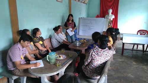 FGD in Dien Trung commune