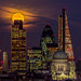 Moon over Tower 42 by London From The Rooftops
