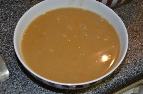 vegetable soup Oct 15