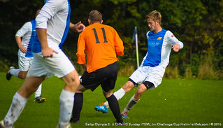 Cliffe FC Sunday 5 - 3 Selby Olympia (League Challenge Cup) 11Oct15