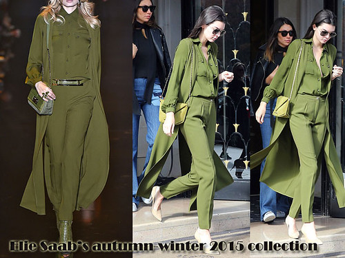How to wear monochromatic colours: Monochrome olive green
