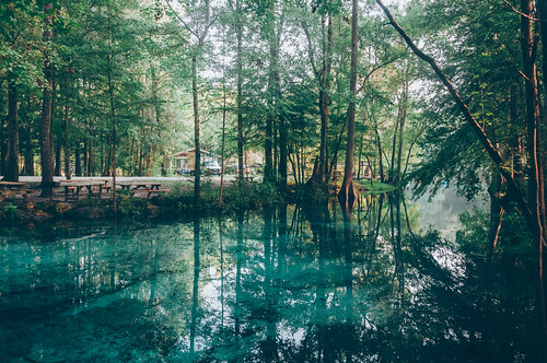 morning camping wild summer mist nature water landscape spring florida outdoor americanbeauty northflorida ginniesprings gilchristcounty vsco springhunters
