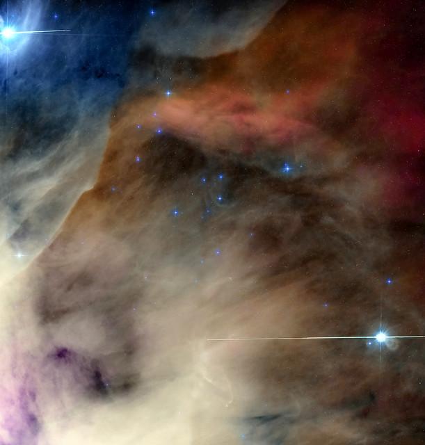 M42 core, Hubble Data!