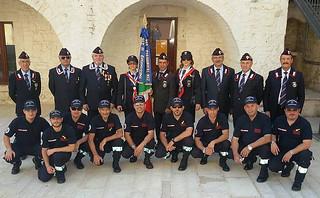 Casamassima-L'Associazione Nazionale Carabinieri Casamassima garantisce la sicurezza del mercato settimanale-associazione carabinieri