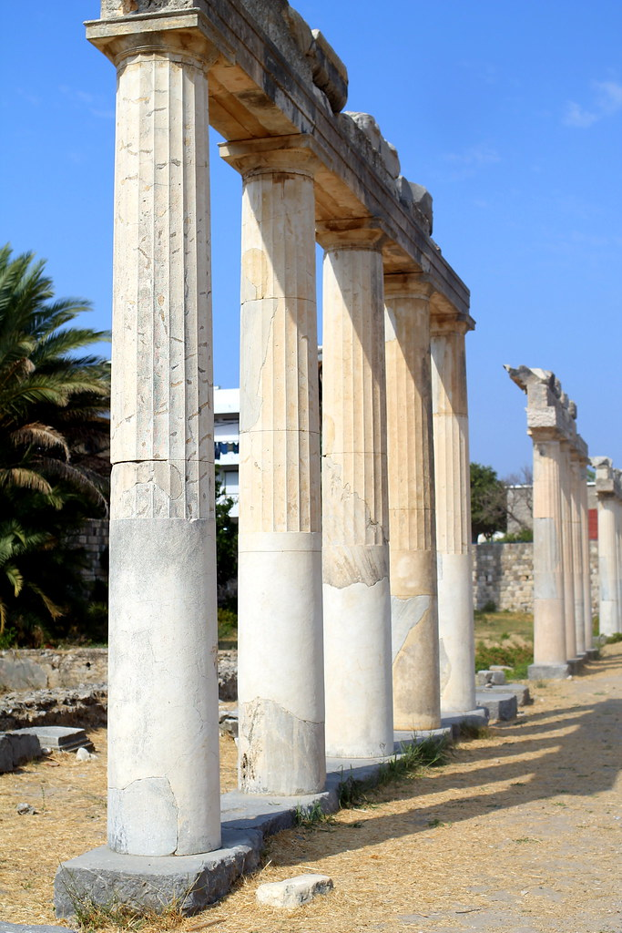 Archaeological Sites Greek Ruins Kos (6)