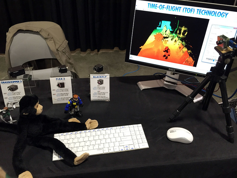 Monkey demonstrates tie of flight imaging
