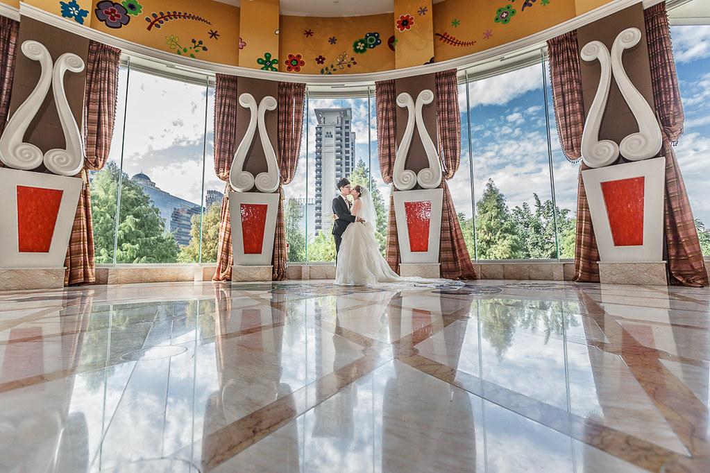 台中林皇宮花園婚禮紀錄