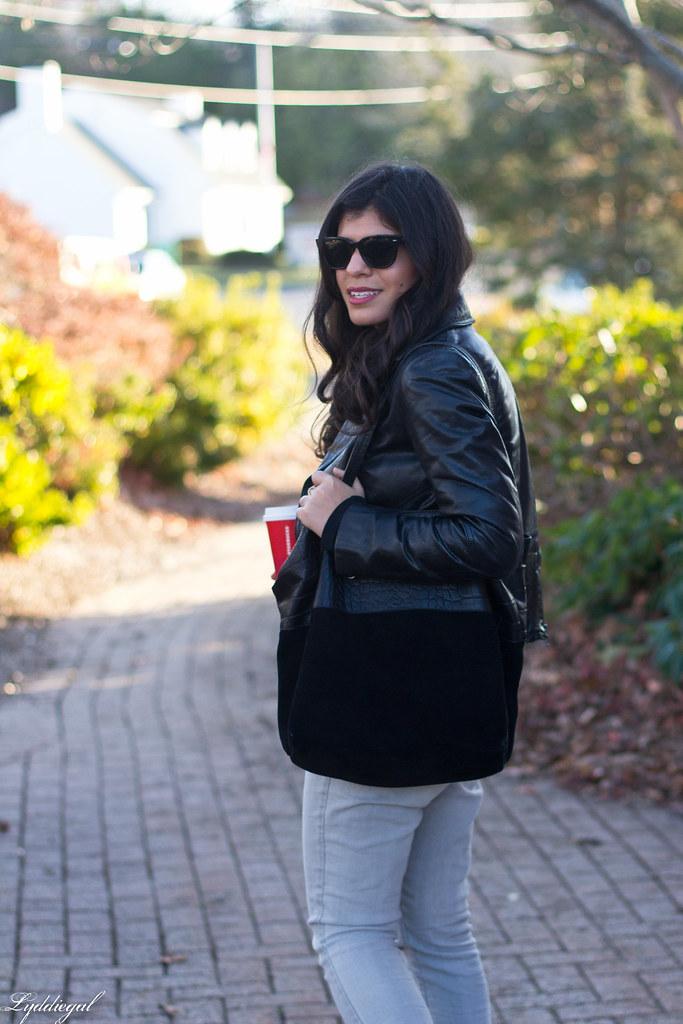 black leather jacket, grey jeans, puma sneakers-3.jpg