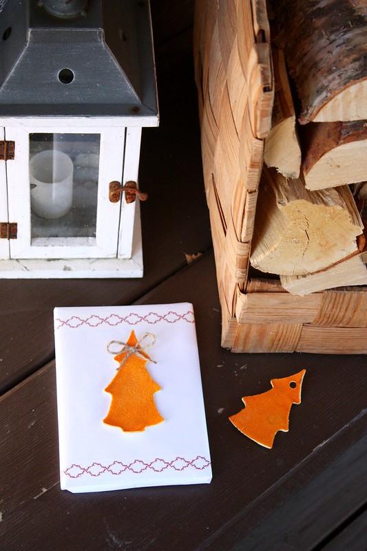 Paketointi-idea joululahjalle