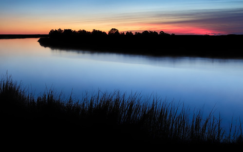 morning autumn light color fall water silhouette clouds sunrise canon georgia landscape dawn wideangle marsh bluehour canon2470mm canon6d barbourriverlanding