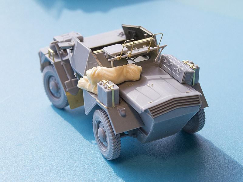 Projet Normandy : Dingo MK.III // Miniart // 1/35 22961103170_a219129526_c
