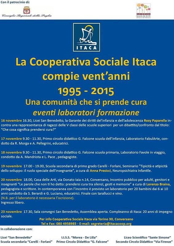 Conversano- Cooperativa Itaca