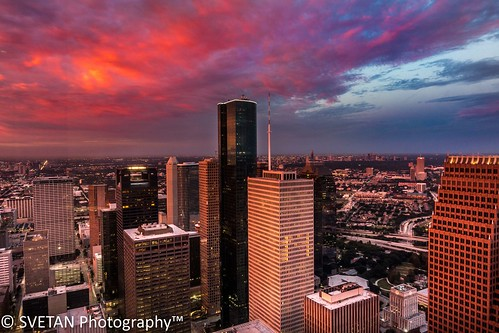 tower sunrise observation photography downtown texas sony houston deck chase 60th rx100 anavr khodzhaev svetan