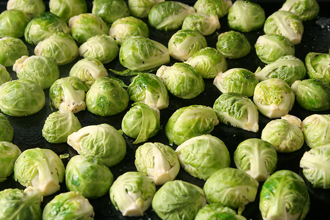 quinoa brussels sprouts pine nuts 1