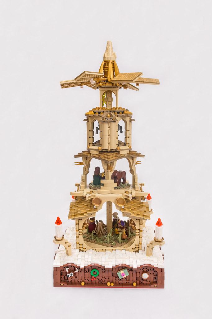 [BuildtheBrick #2]: Weihnachtspyramide 23848743826_beb00dddff_b