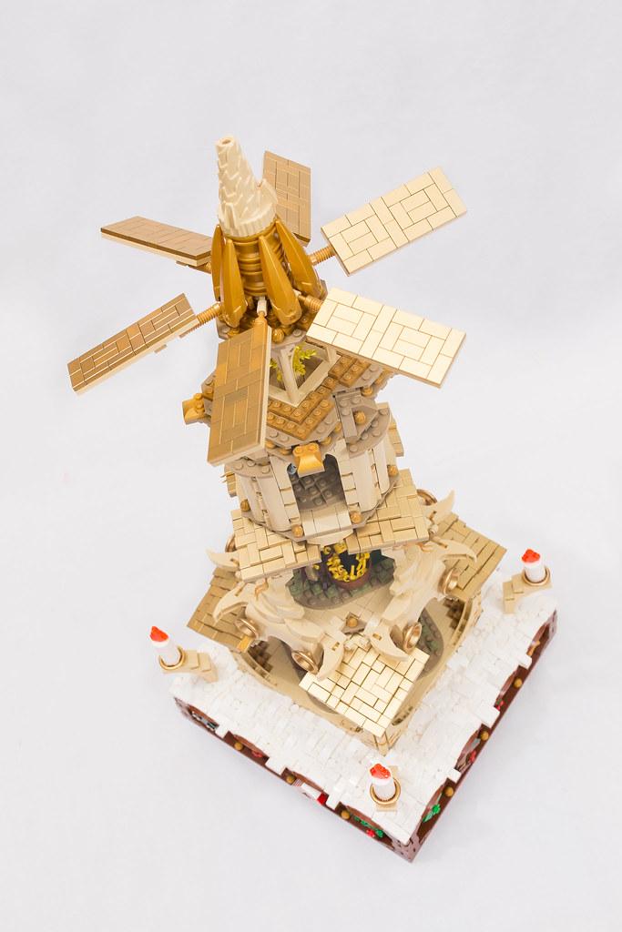 LEGO Ideas Highlight:Weihnachtspyramide 23874760125_4a37211893_b
