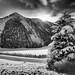 When The Sun Meets The Mountain Ridge by galvanol