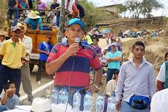Alcalde inauguró badén en Ñause de Santa Rita