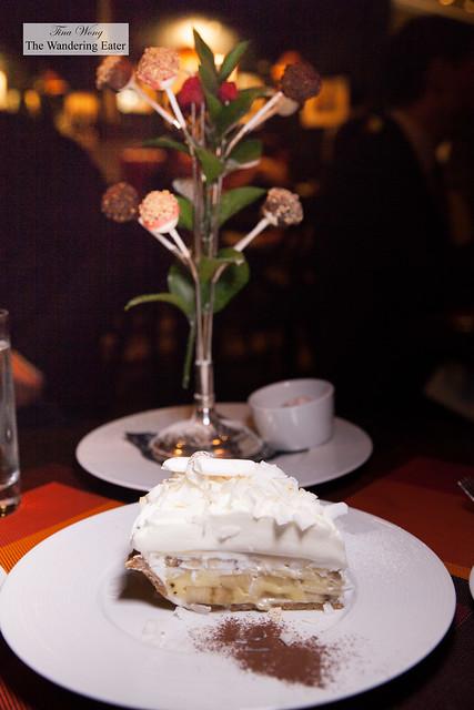 Cheesecake Lollipop Tree & Coconut Banana Cream Pie