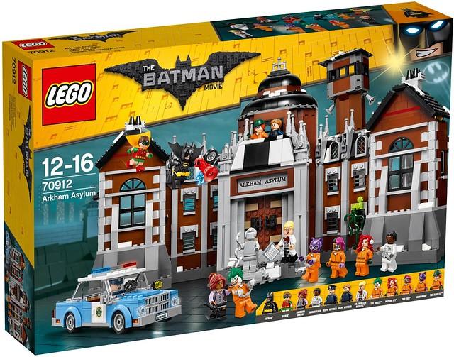 70912 Arkham Asylum Box