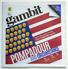 Pompadour and circumstance - Gambit's inauguration issue