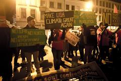 Pour le climat, contre Donald Trump Bruxelles 20-01-2017