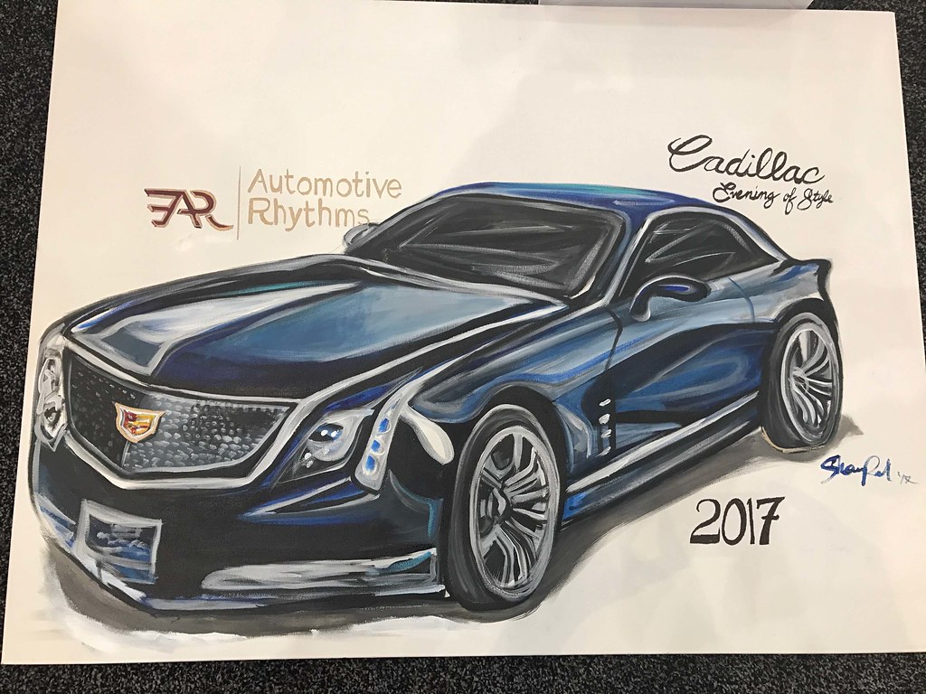 Cadillac Evening of Style: 2017 Washington Auto Show