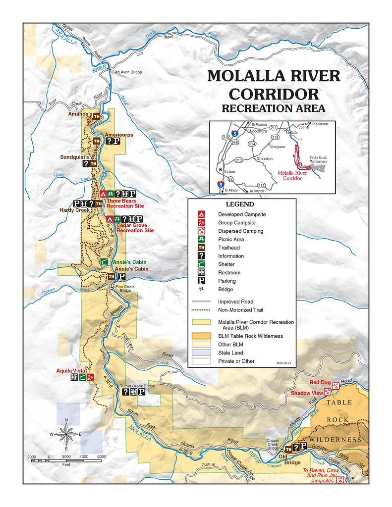 Molalla River Recreation Area Enjoy A Scenic Drive Along