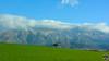 Prairie au pied du massif du Djurdjura